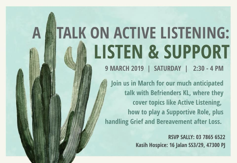Talk on Active Listening